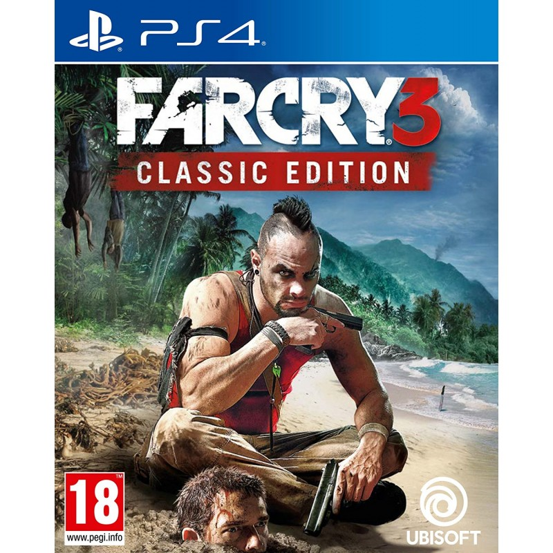 Игра PS4 Far Cry 3. Classic Edition