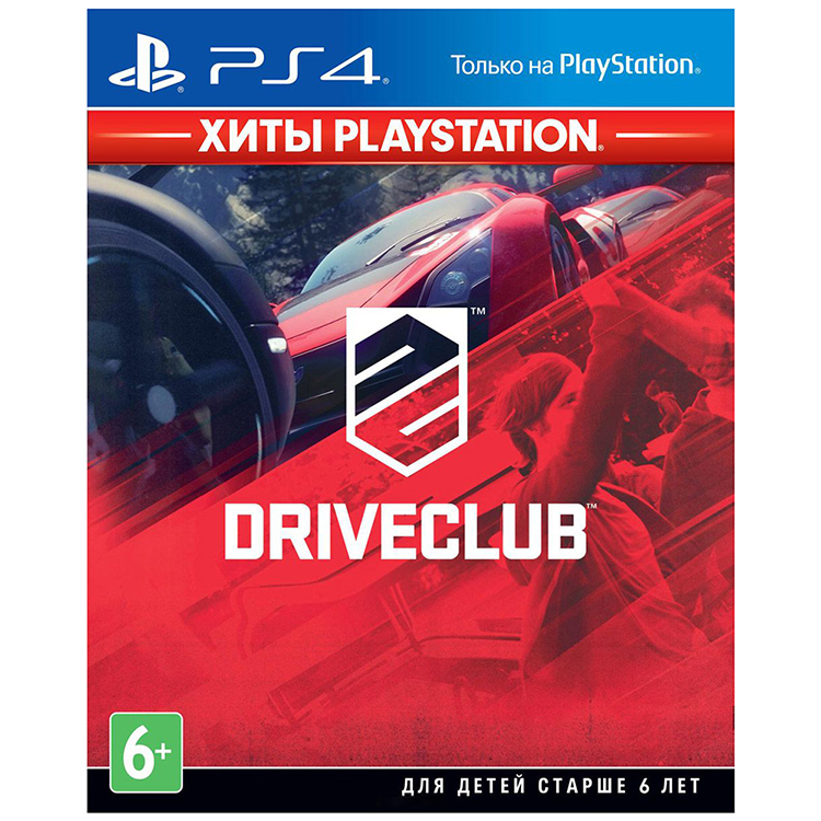 Игра PS4 Driveclub (Хиты Playstation)