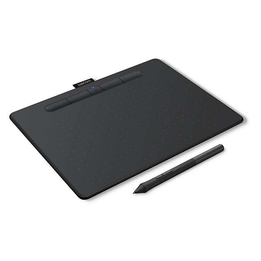 Графический планшет Wacom Intuos M Bluetooth Black, цвет Чёрный