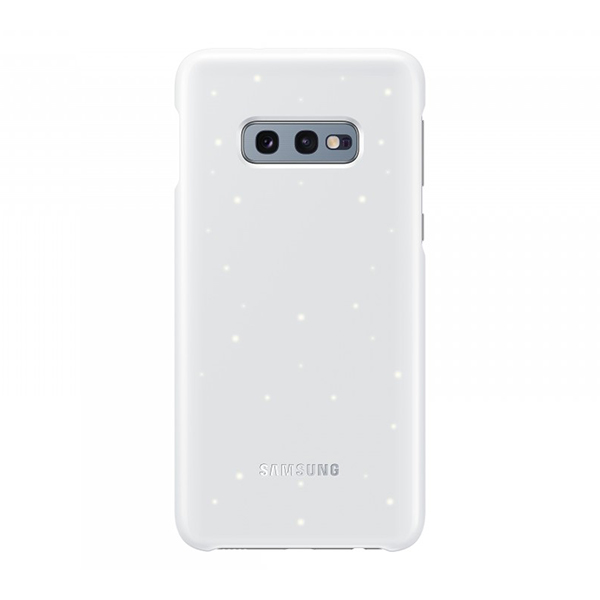 Чехол Samsung LED Cover белый, для Galaxy S10e
