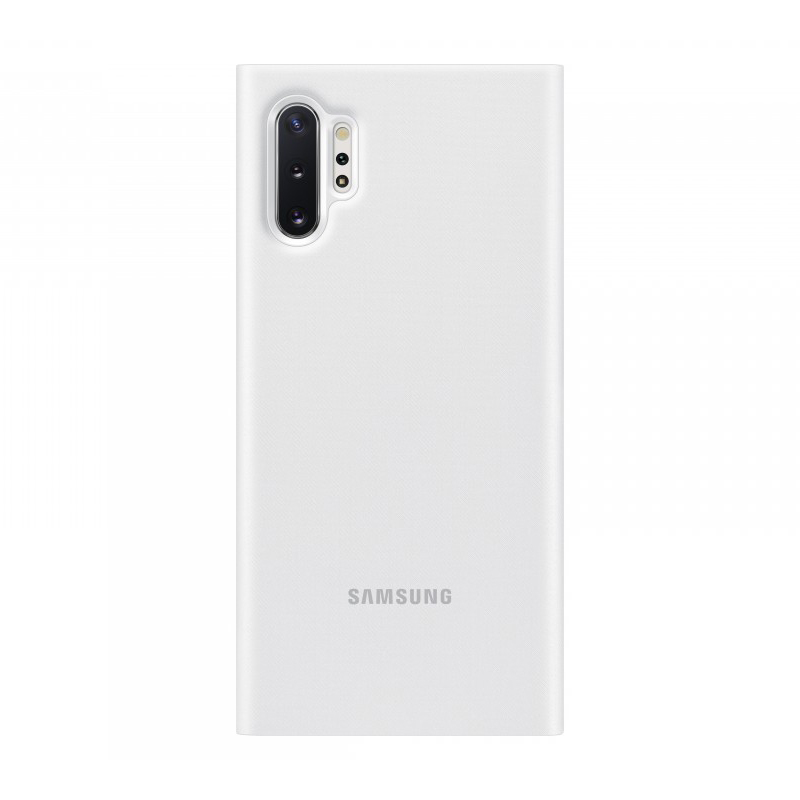 Чехол-книжка Samsung LED View Cover EF-NN975 белый, для Galaxy Note10+