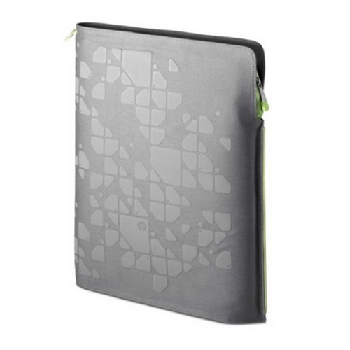 "15,4"" Папка HP SlimFit Notebook Sleeve Grid Series FH933AA"
