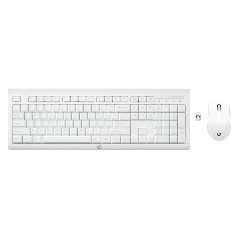 Клавиатура и мышь HP C2710 Combo Keyboard, цвет белый