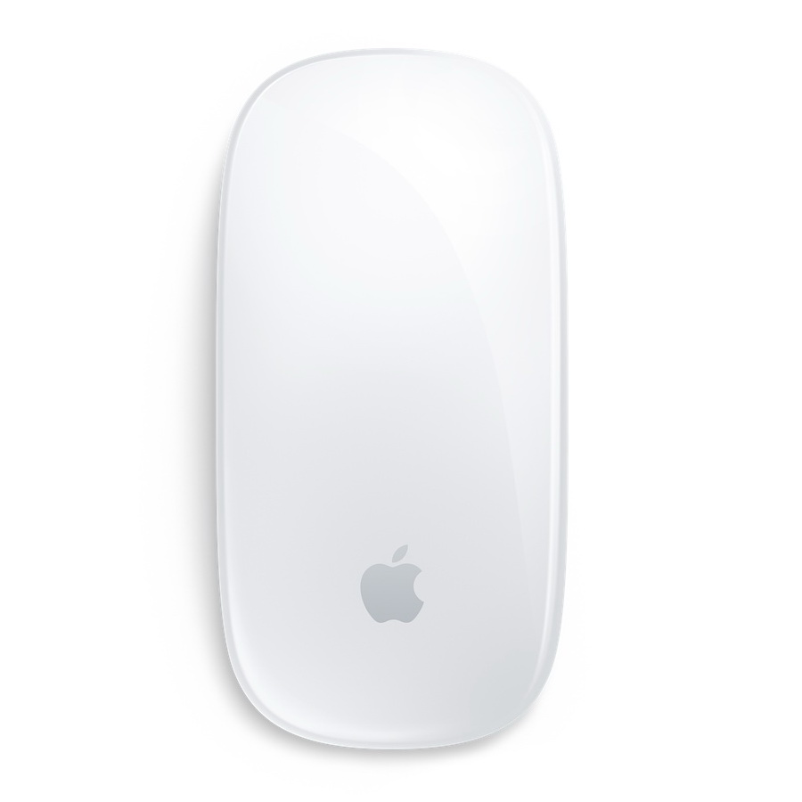Мышь Apple Magic Mouse 2, белый/серебристый