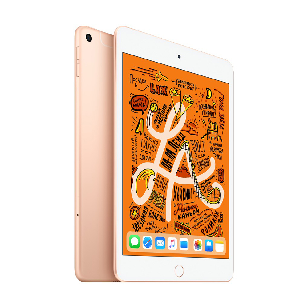iPad mini Wi-Fi+Cellular 64Gb Золотой (MUX72RU/A)