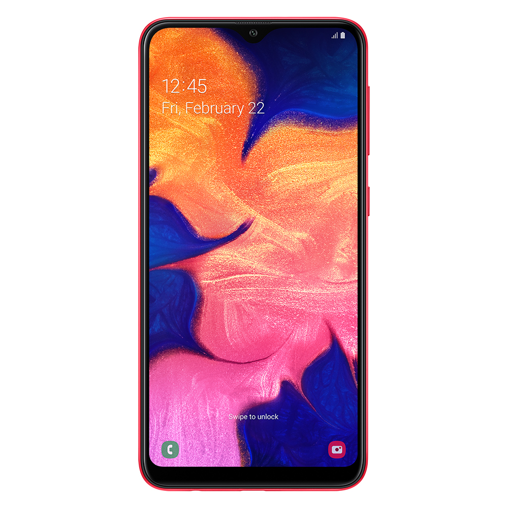 Смартфон Samsung Galaxy A10 2/32Gb красный SM-A105F/DS