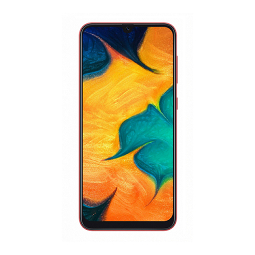 Смартфон Samsung Galaxy A30 4/64Gb красный SM-A305FN/DS