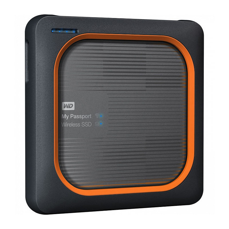 Внешний SSD накопитель 500 Гб WD My Passport My Passport Wireless SSD