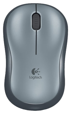 Мышь беспроводная Logitech M185 Wireless Mouse Swift Grey