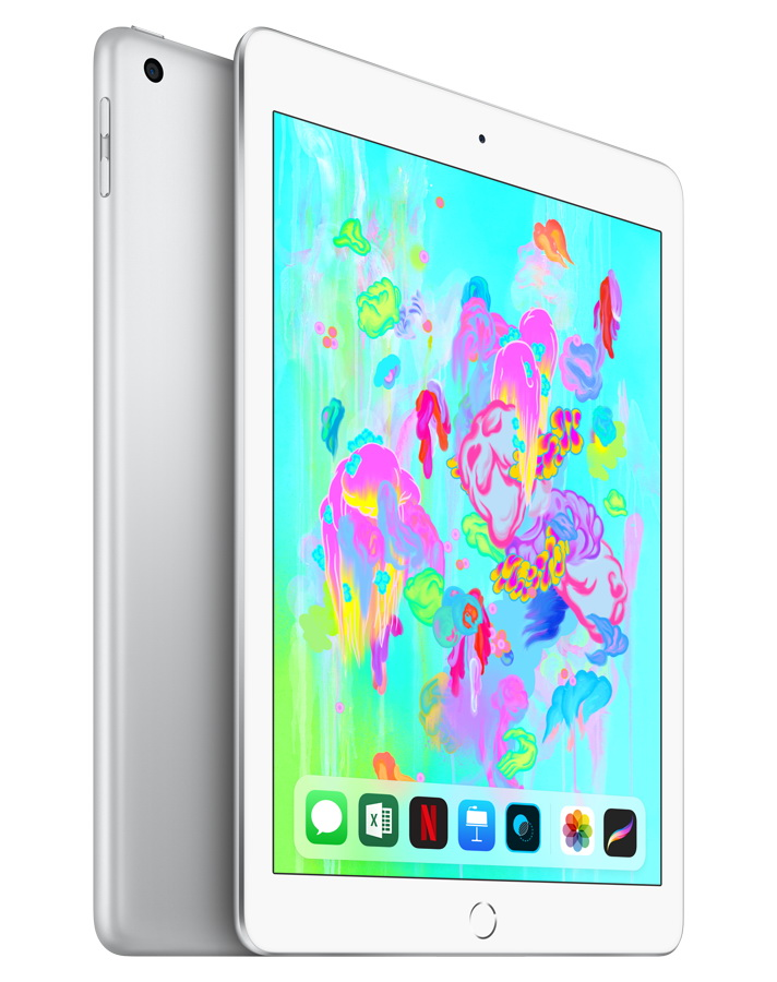 iPad Wi-Fi + Cellular 32GB Серебристый Early 2018 (MR6P2RU/A)