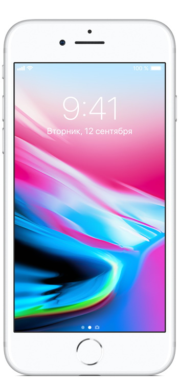 Apple iPhone 8 64GB серебристый (MQ6H2RU/A)