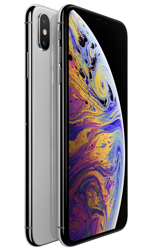 Apple iPhone XS Max 512GB серебристый (MT572RU/A)
